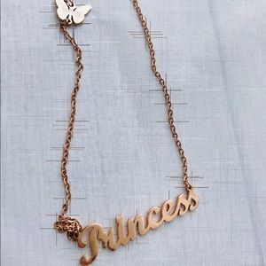 Rose Stainless Princess Necklace
